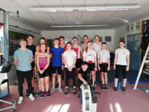 RCW-Jugend beim Training