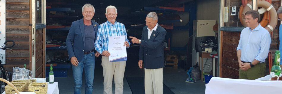 Ernennung zum Ehrenmitglied des RC Wels von Heinz König