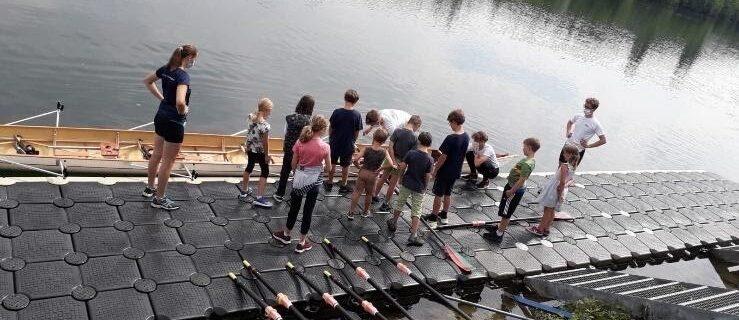 Schnupperrudern vom 15.07.2020 beim Ruderclub Wels