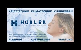 Logo Hübler Kälte- und Klimatechnik