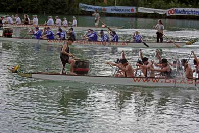 1. Welser Drachenbootrennen