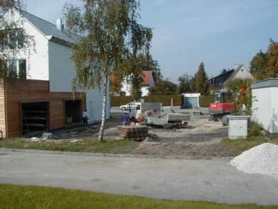 Neubau des Bootshauses